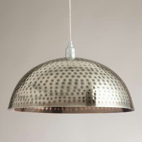 Ceiling lamp with very beautiful hammerred design