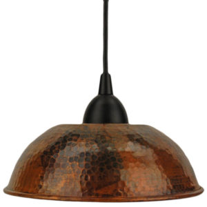 Bronze Finish Ceiling Lamp