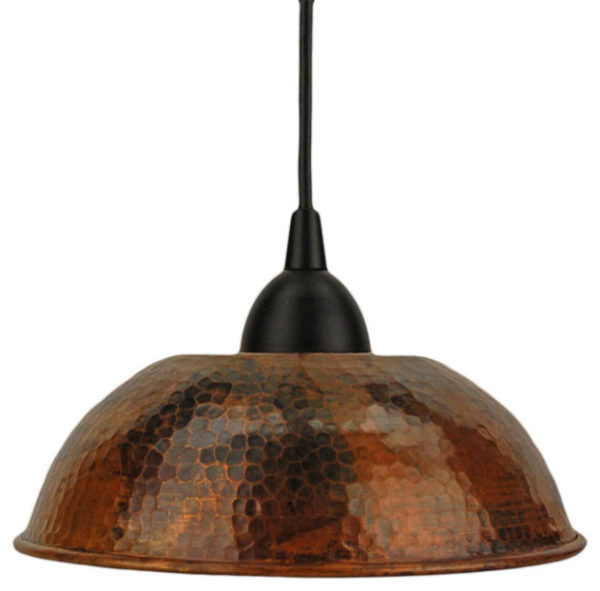 Bronze Finish Ceiling Lamp