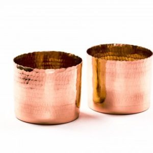 Copper T-light holder