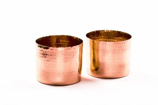 Copper T-light holder
