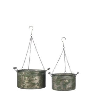 Antique bucket set