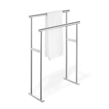 Double Towel Stand in Steel