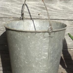 Galvanized Wine Bucket