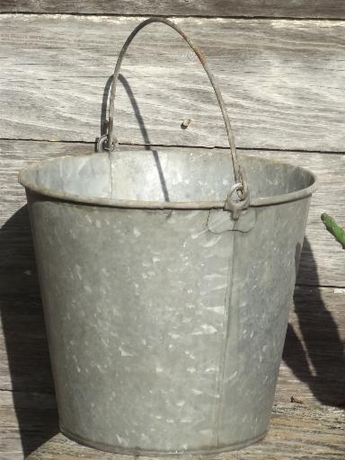 Galvanized Wine Bucket