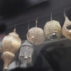 Metal Moroccon Lamp