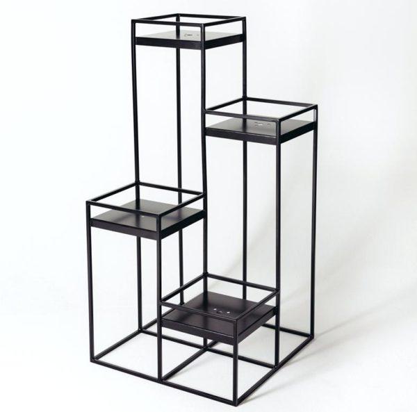 Combine planter stand
