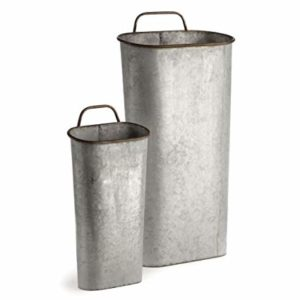Galvanized Planter Buckets