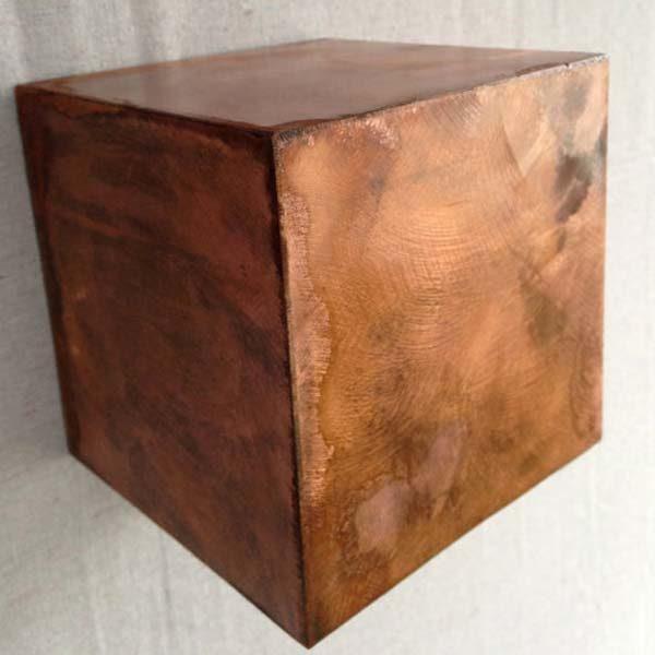 Metal box for base