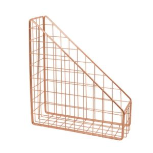 Wire shelf for magazine or other uses