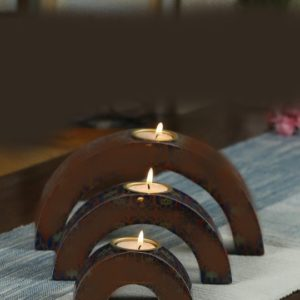 Very beautiful candle holder set