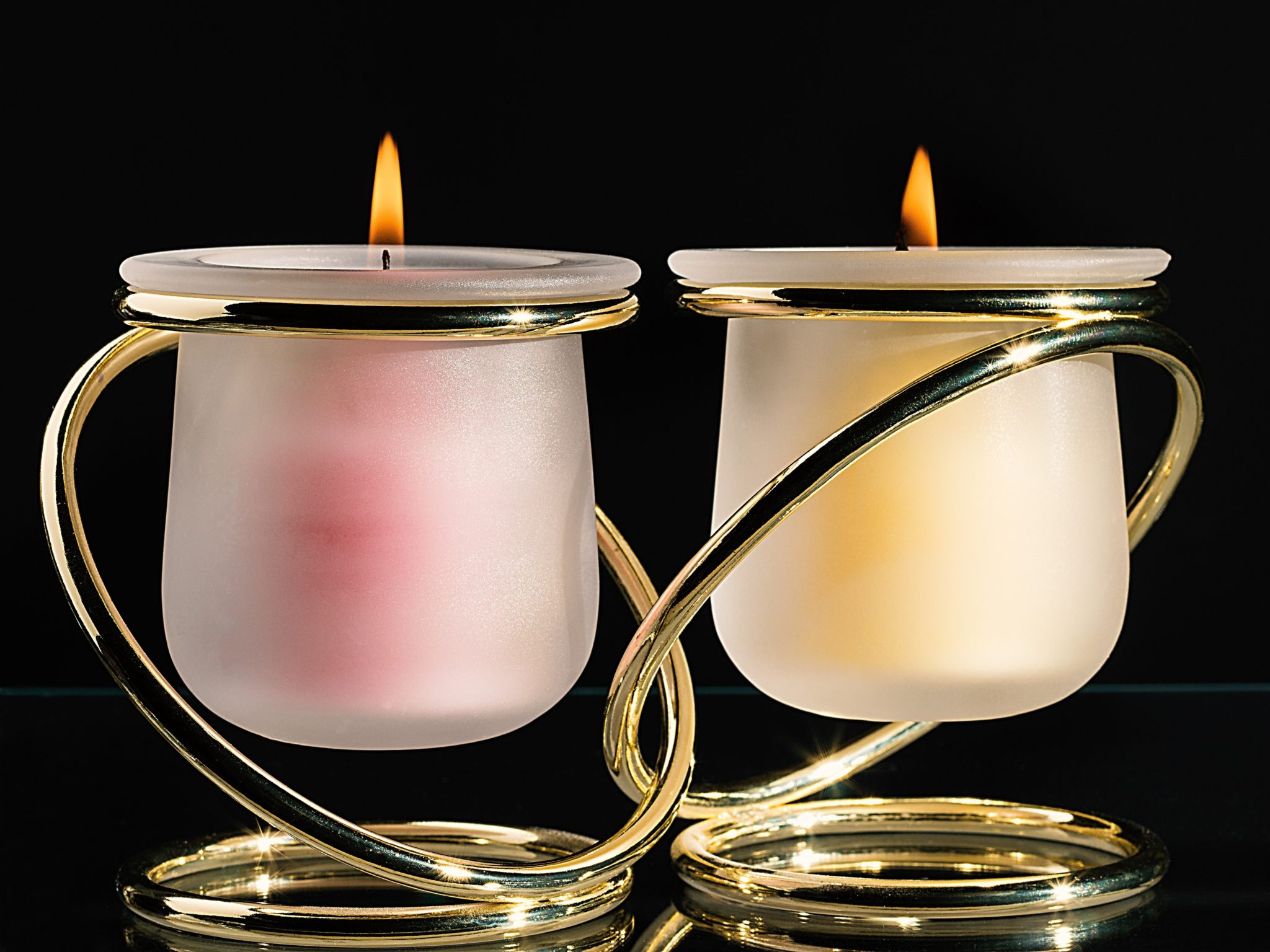 T-light candle stand royal designe